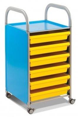 Callero A3 Papaer Storage Cyan Blue