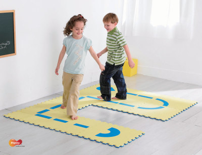 Follow The Route On The Floor Being Used 2
