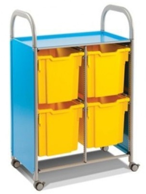 Callero Trolley With Four Jumbo Trays