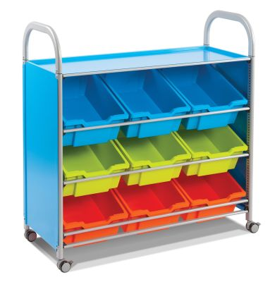 Callero Tilted Tray Trolley