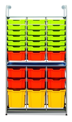 Callero Storage Combination With Shallow Trays Deep Trays And Jumbo Trays