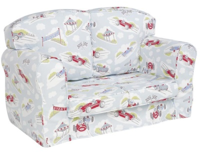Classic Racing Cars Loose Covers Sofa