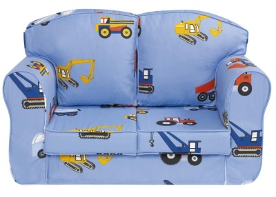 Toy Trucks Loose Cover Sofa 1
