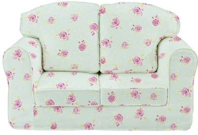 Country Flowers Loose Cover Sofa