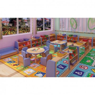 Toddler Square Table 1