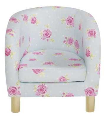 JK Country Flowers Tub Chair
