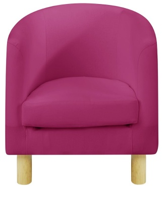 JK Plain Pink Tub Chairs
