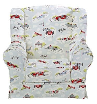 JK Classic Racing Cars Wing Chair