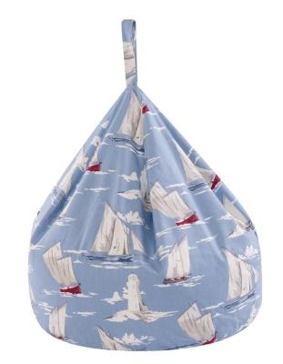 JK Sail Boats Bean Bag