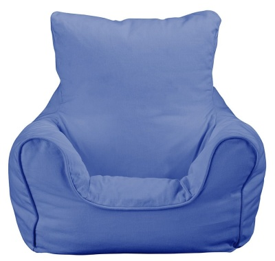 JK Plain Blue Bean Bag Chair