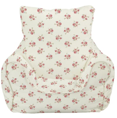 Rose Natural Bean Chair