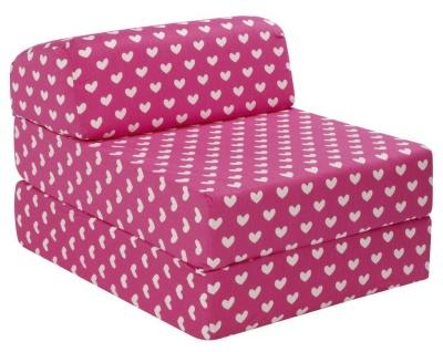 JK Pink Hearts Z Bed