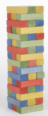 Coloured Block Tower