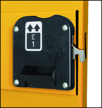 Coin Operated Lock For Probe Lockers