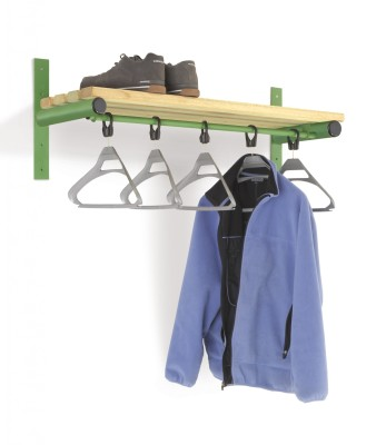CL Wall Mounted Shelf And Rail