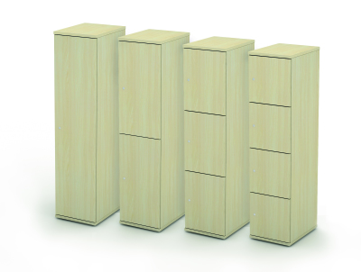 Avalon Wooden Personal Lockers