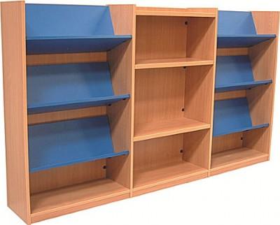 Nexus Library Cobmination Shelving 3
