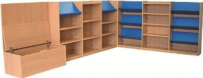 Nexus Large Corner Library Storage