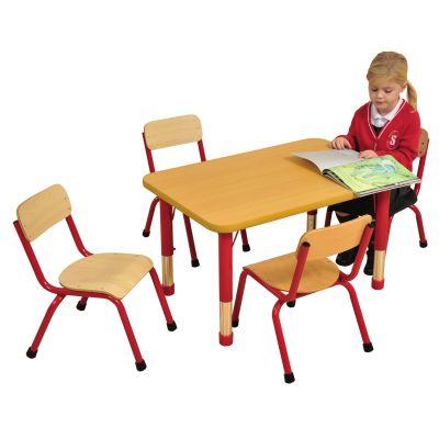 Rectangular 4 Seater Table