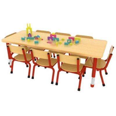 Rectangular 8 Seater Table