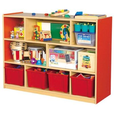 MLN Wooden Storage Unit - 8 Compartment