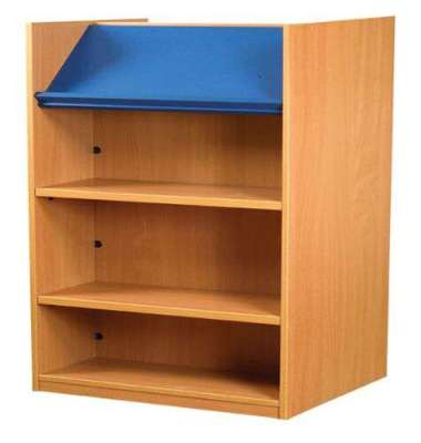 Nexus Double Sided Shelving With Display Shelf 1