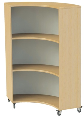 Nexus Concave Curved Shelving 2