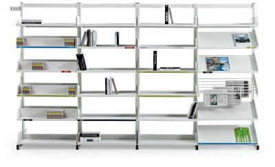 Level Library Shelving F