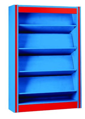 Spectrum Library Shelving With Display Shelves