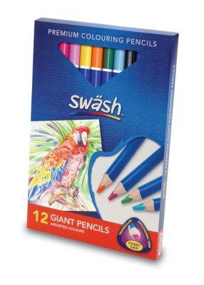 Komfigrip Giant Colouring Pencils 1