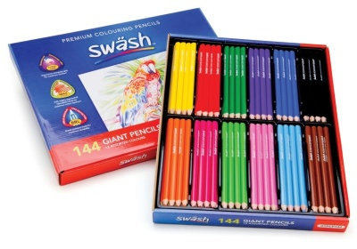 Komfigrip Pack Of 144 Colouring Pencils 3