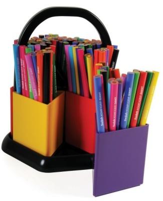 Komfiplan Colouring Pencils And Dispenser