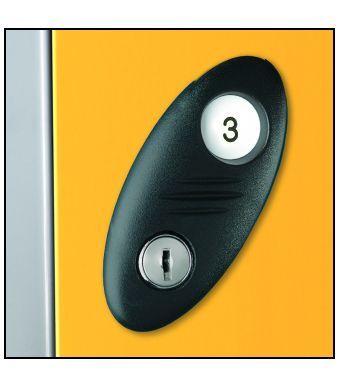 Lock For Probe Clean & Dirty Lockers