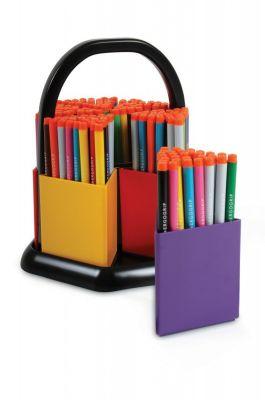 180 Komfigrip Broad Tip Colouring Pens