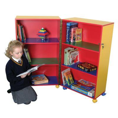 Mobile Folding Book Storage