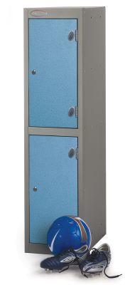 Trespa Low Two Door Lockers Cam Lock