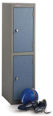 Trespa Low Two Door Lockers Hasp And Staple
