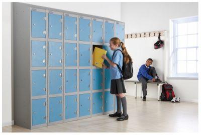 Trespa Low Two Door Lockers