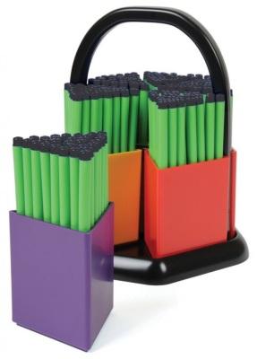 180 Komfigrip Black Handwriting Pens