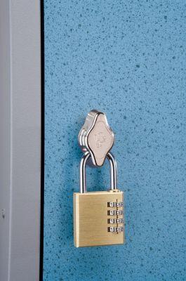 Trespa Hasp And Staple Lock