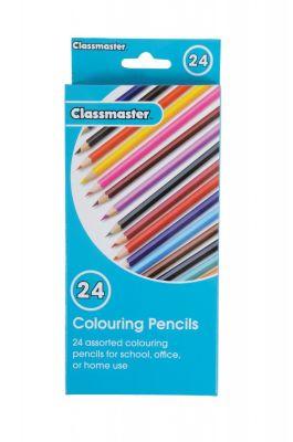 Classmaster Colouring Pencils 24 Pack