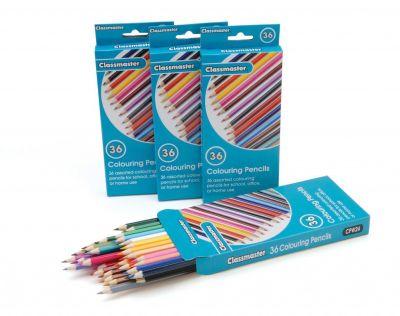 Classmaster Colouring Pencils 36 Pack
