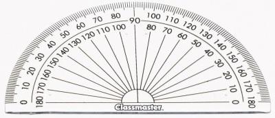 Classmaster 180° Protractors