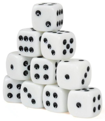 Classmaster Spotted Dice 10 Pack