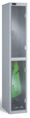 Probe Clear Two Door Lockers