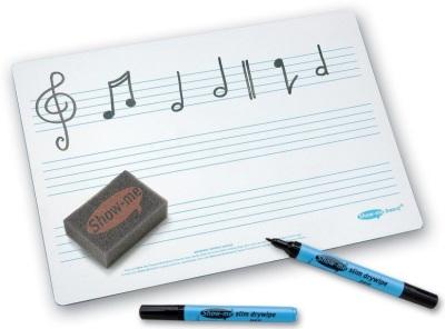 Show Me Music Rules Drywipe Board