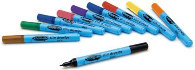Show Me Fine Tip Assorted Colour Pens 10 Pack