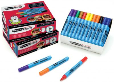 Show Me Fine Tip Assorted Colour Pens 50 Pack