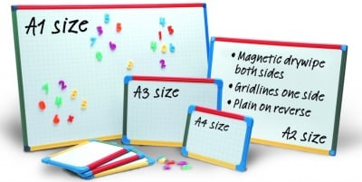 Show Me A2 Plain & Gridded Board