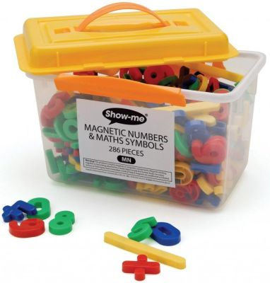 Show Me Magnetic Numbers And Maths Symbols
